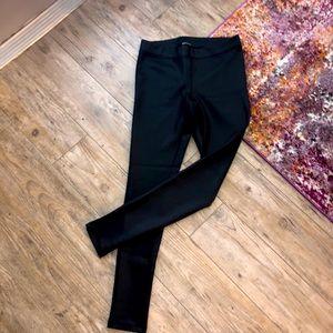 ♦️NWOT | Express | Wet Look Black Leggings